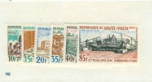 Burkina FAS 275-9 C106 MNH CV$ 3.55 BIN$ 2.00