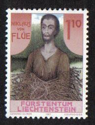 Liechtenstein 1987 MNH  Niklaus von Flue