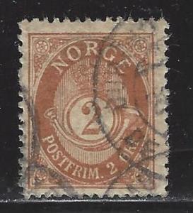 Norway Scott # 48, used