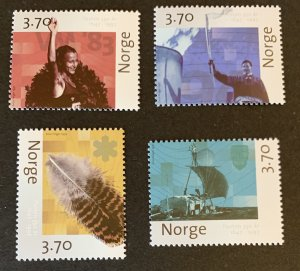Norway 1997 #1161-2,1164-5 MNH. Culture