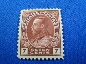 CANADA  1924  -  SCOTT # 114   MH