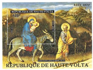 Burkino Faso C134 LH SS SCV $4.00 BIN $2.00 RELIGION