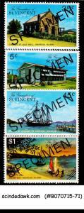 GRENADINES OF ST. VINCENT - 1976 MARREAU ISLAND - 4V - MINT NH SPECIMEN