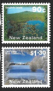 New Zealand # 1679 - 80 Mint Never Hinged