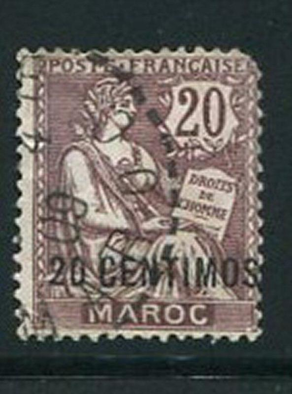 French Morocco #17 Used