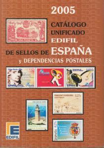 Edifil 2005 Spain & Dependencies, full color, priced in €uros, NEW