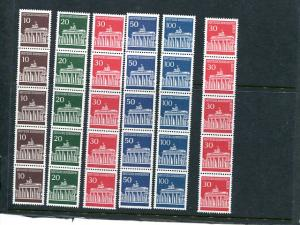 Germany # 952-56 Coils  Mint VF  NH