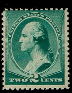 Scott #213 Fine-OG-NH. With 2010 Weiss certificate. SCV - $120.00