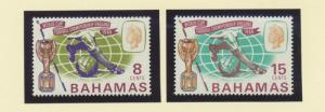 Bahamas Scott #245 To 246, Mint Never Hinged MNH, Two Stamp World Cup Soccer,...