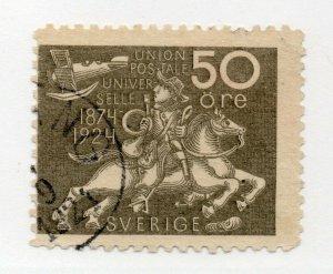 Sweden - Sc# 222 Used      /      Lot 1021028