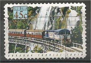 AUSTRALIA, 1993, used  45c, Trains Scott 1328