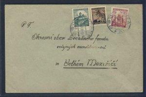 67896- CZECHOSLOVAKIA 1939 - CIRCULATED COVER