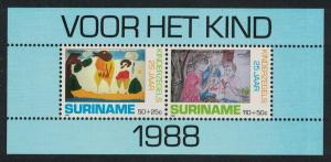 Suriname 25th Anniversary of Child Welfare Stamps MS SG#MS1395