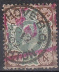 Great Britain #133 F-VF Used CV $35.00 (B793)