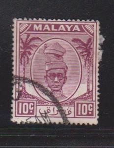 PERAK Scott # 111 Used - Sultan Issue