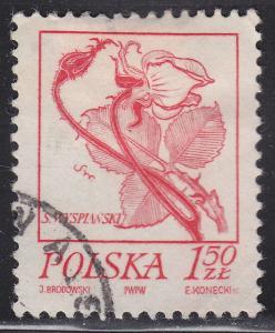 Poland 2019 USED 1974 Rose