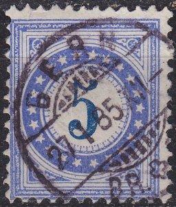 SCHWEIZ SWITZERLAND [Porto] MiNr 0004 II K a ( O/used )