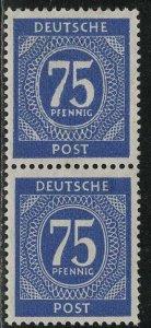 Germany AM Post Scott # 553, mint nh, pair