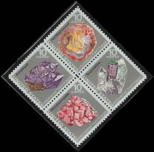 1541a Mint,OG,NH... Block of 4... SCV $1.00