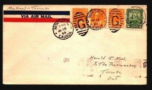 Canada 1929 FFC Moncton to Toronto - Z17418