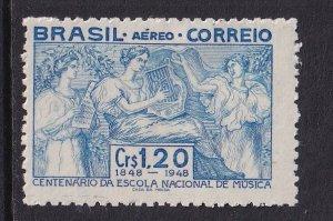 Brazil   #C70  MH   1948  National School of Music centenary