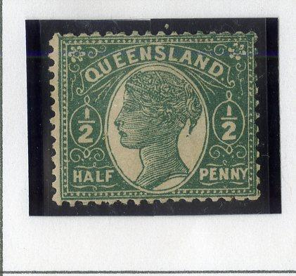 QUEENSLAND 101 MH SCV $11.00 BIN $5.00 ROYALTY