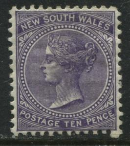 New South Wales 1897 10d violet perf 12 mint o.g.