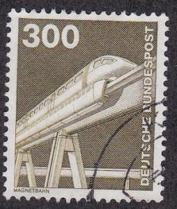 Germany # 1191, Electric Railroad, Used, 1/3 Cat.