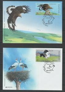 Moldova 2019 CEPT Europa Birds FDC