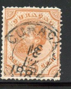 Netherlands Antilles # 5, Used. CV $ 9.50