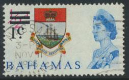 Bahamas  SG 273 SC# 230 Used  OPT Decimal Currency 1966