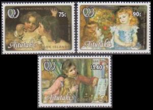 1985Aitutaki564-566Paintings11,00 €