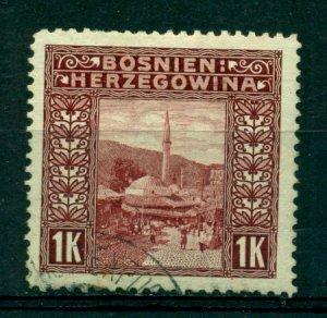 Bosnia & Herzegovina 1906 #43 U SCV(2020)=$3.75
