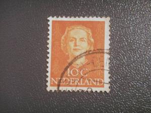 Nederland, 1949, 10c orange SG 686 Value £0.10