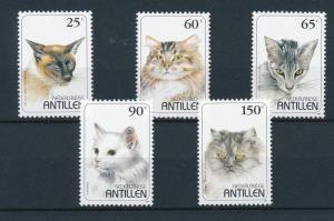 [NA1102] Netherlands Antilles Antillen 1995 Cats MNH # 1102-06