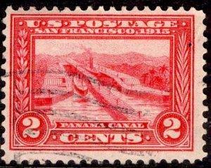 US Stamp #398 USED SCV $1.00