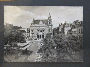 4692 Cartolina Postcard Luxembourg Place d'Armes et Palais Municipal used 301