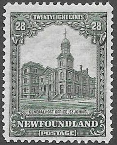 Newfoundland Scott Number 158 FVF H