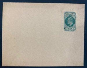 Mint England Wrapper Postal Stationery Half Penny Green