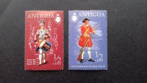 Antigua 1971 Military Uniforms Unused