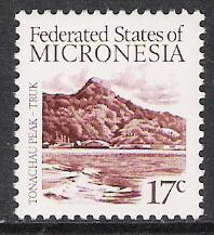 Micronesia #12 Tonachau Peak MNH