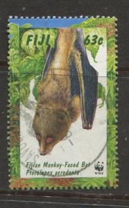 Fiji - Scott 798 - Bats Issue -1997 - FU - Single 63c Stamp