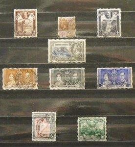 5642   Br Guiana   U # 194,211,213,223,227,228,229,232a,234    CV$ 9.85