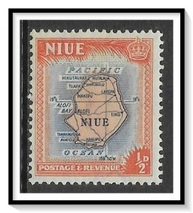 Niue #94 Map MNH
