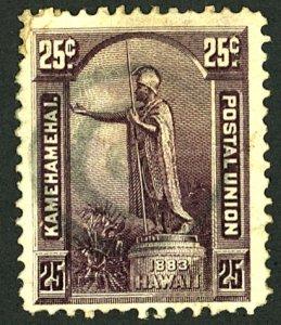 HAWAII #47 USED LARGE HR THIN