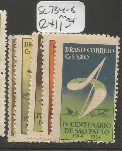Brazil SC 734-8 MNH (4czz)