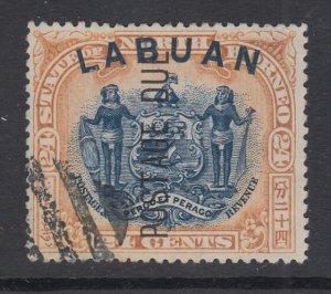 Labuan, Scott J9a (SG D9b), used CTO, Perf 14.5