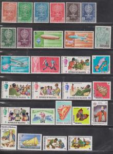MALDIVE ISLANDS - Collection Of Mint Hinged Stamps - Many With Hinge Remnants