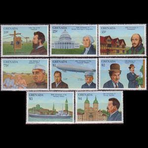 GRENADA 1989 - Scott# 1790-7 Events Set of 8 NH