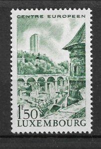 Luxembourg 1966 22-storey European Center tower MNH**